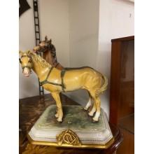 Coppia di cavalli by Merli