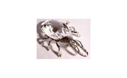 Beetle Bottle Opener Rhodium